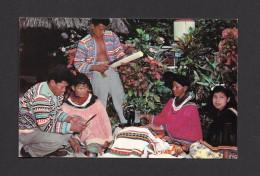 INDIENS DE L´AMÉRIQUE DU NORD - NATIVE FLORIDA INDIANS AT WORK - BY GULF STREAM CARD - Indiens De L'Amerique Du Nord