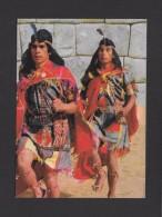 INDIENS  D´AMÉRIQUE DU SUD - COURRIERS INCA - PÉRU - Indiens De L'Amerique Du Nord
