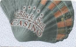 Carte De Membre Sans Numéro : Black Sea Casino - Bulgarie - Casino Cards