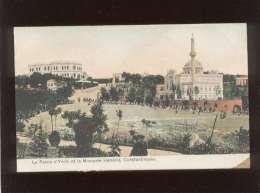 Le Palais D' Yildiz & La Mosquée Hamidié Constantinople Pas D'éditeur Précurseur - Turquie