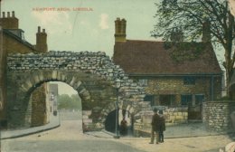 GB LINCOLN / Newport Arch / CARTE COULEUR GLACEE - Lincoln