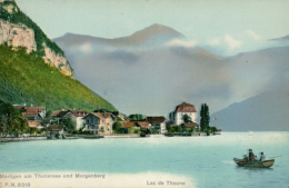 CH MERLIGEN / Merligen Am Thurnersee Und Morgenberg / CARTE COULEUR - BE Berne