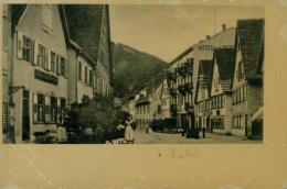 DE HASLACH / Vue Intérieure, Un Hôtel / CARTE GLACEE - Haslach