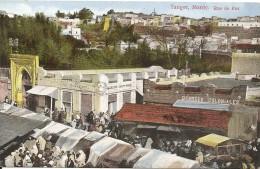 AFRIQUE MAROC TANGER - RUE DE FEZ Vers 1920 - Tanger