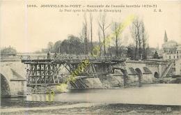 94. JOINVILLE LE PONT Après La Bataille De Champigny . Souvenir Année 1870-71 . - Joinville Le Pont