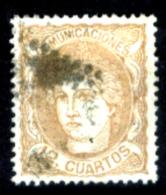 Spagna-078 - 1870 - Y&T N. 113 (o) Used - Privo Di Difetti Occulti - - 1873-74 Reggenza