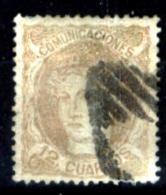 Spagna-079 - 1870 - Y&T N. 113 (o) Used - Privo Di Difetti Occulti - - 1870-72 Reggenza