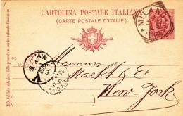 Postkarte Fil. C 23/95 Von Alzano Nach Bern/Schweiz (m129) - Entiers Postaux