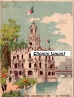 Chromo Exposition Universelle De 1889 LE PORTUGAL  - Scans Recto-verso - Kaufmanns- Und Zigarettenbilder