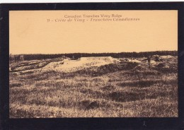 Reproduction?,Old Card Of Canadian Trenches,Vimy Ridge,Nord-Pas-de-Calais Region Of France,.,N38.. - Nord-Pas-de-Calais