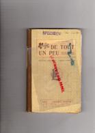 LIVRE LECTURE - DE TOUT UN PEU -J.B. TARTIERE LAROUSSE VERS 1898-1900 - 0-6 Years Old