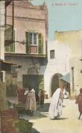 AFRIQUE MAROC TANGER - UNE RUE Vers 1920 - Tanger