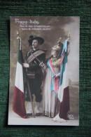 FRANCE - ITALIE - Patriottiche
