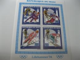 Mali-1994-Winter Olympics- MI.1191-1194 - Winter 1994: Lillehammer