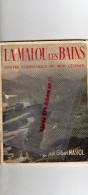 34 - LAMALOU LES BAINS-DEPLIANT TOURISTIQUE DU MIDI CEVENOL-LIBRAIRIE GILBERT MASSOL-1948 - Dépliants Touristiques