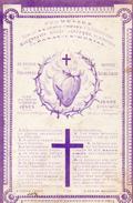 IMAGE PIEUSE  COEUR DE JESUS 100 Jours D'Indulgence Ed L. Dopter - Images Religieuses