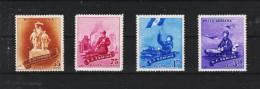 1958 -  Journee De L Armee Y&T No 1592/1594 + P.A. 88 Et Mi No 1734/1737 MNH - Ungebraucht