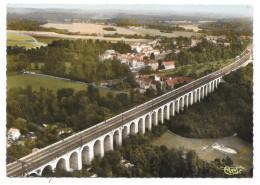 Cpsm: 91 BRONOY (ar. Evry) Viaduc - Ligne Paris Marseille (Vue Aérienne) 1970  CIM   N° 221.33 - Brunoy