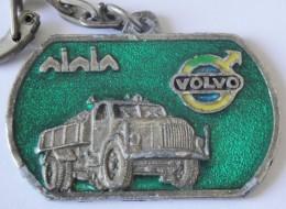 Keychain émaillé VOLVO Camion Star Auto Casablanca - Key-rings