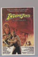 Cpm ,  Indiana Jones Le Temple Maudit .... ,   Non Voyagé - Affiches Sur Carte