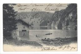 14862 - Lac Des Chavonnes Barque - VD Vaud
