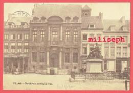 ATH - Grand Place Et Hôtel De Ville - 1934       (4259) - Ath