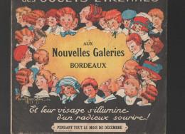 Catalogue Jouets NOUVELLES GALERIE BORDEAUX 1923 (ill Gaston MARECHAUX)(CAT 107) - France
