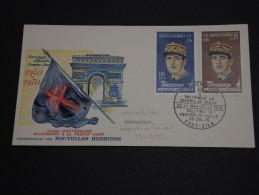 NOUVELLES HÉBRIDES - Enveloppe 1er Jour En 1970 - Général De Gaulle - A Voir - L 455 - FDC