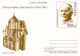 K8268 - Poland (1991)  IV. Visit Of Pope John Paul II (1920-2005) In Poland; Biscop Jozef Sebastian Pelczar (1842-1924) - Famous People