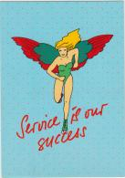AK - Alte Werbekarte - LAUDA AIR - Werbepostkarten