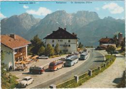 AK - Osttirol - Iselsberg Mit Cafehaus Und Alten Autobussen - Lienz