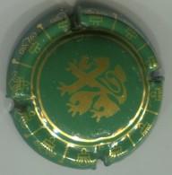 CAPSULE-CHAMPAGNE UNION DE SAINT GALL N°03-dessin Or-vert - Champagne