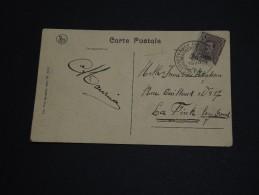 """BELGIQUE - Oblitération De Spa """" Conférence Diplomatique"""" Sur Carte Postale En 1919 - A Voir - L 467 - Belgium"""