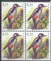 N° 3162  XX  MNH  BLOKJE VAN  4 - 1985-.. Vögel (Buzin)