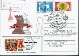 Schaken Schach Chess Ajedrez échecs - USSR - CCCP - 1985/86 - Echecs