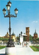 P247 - POSTAL - ALCALA DE HENARES - MADRID - PLAZA Y MONUMENTO A CERVANTES - Madrid
