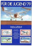 Motive Luftfahrt Fur Die Jugend 79 Promotion Aérophilatélie - 1946-....: Ere Moderne