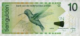 NETHERLANDS ANTILLES 10 GULDEN 2011 P-28 UNC [AN225e] - Banknotes