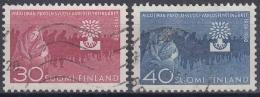 Finlandia 1960 Nº 493/94 Usado - Gebraucht
