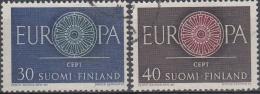 Finlandia 1960 Nº 501/02 Usado - Gebraucht