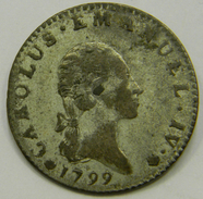 7,6  Soldi 1799  Carlo Emanuele IV Regno Di Sardegna -  Casa Savoia - Italian Piedmont-Sardinia-Savoie