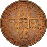 Portugal, Escudo, 1973, SUP, Bronze, KM:597 - Portugal