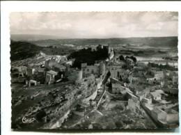 CP -  EYGALIERES (13) Vue Generale Aerienne Vestiges Du Chateau Haut Du Village