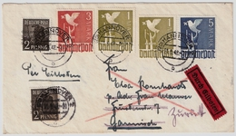 1948, 10fach, Und Neue Währung ,und Ersttag !!Mi. Ca. 180.- . Geprüft   , #5863 - Zone AAS