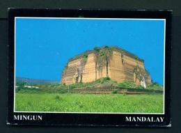 MYANMAR  -  Mingun Pagoda  Used Postcard - Myanmar (Burma)
