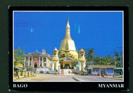 MYANMAR  -  Bago  Shwe Maw Daw Pagoda  Used Postcard - Myanmar (Burma)