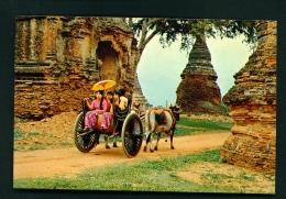 MYANMAR  -  Pagan  Used Postcard - Myanmar (Burma)