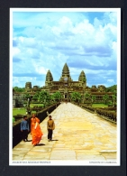 CAMBODIA  -  Angkor Wat  Used Postcard - Cambodia