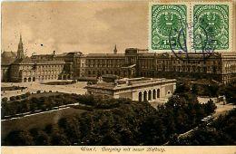 Cpa AUTRICHE - WIEN - Burgring Mit Neuer Hofburg - Timbres - Ohne Zuordnung