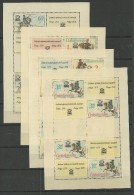 1977 MNH  Tschechoslowakei, Praga  Exhibition,  Postfris** - Blocs-feuillets